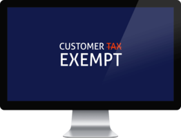 Customer Tax Exempt