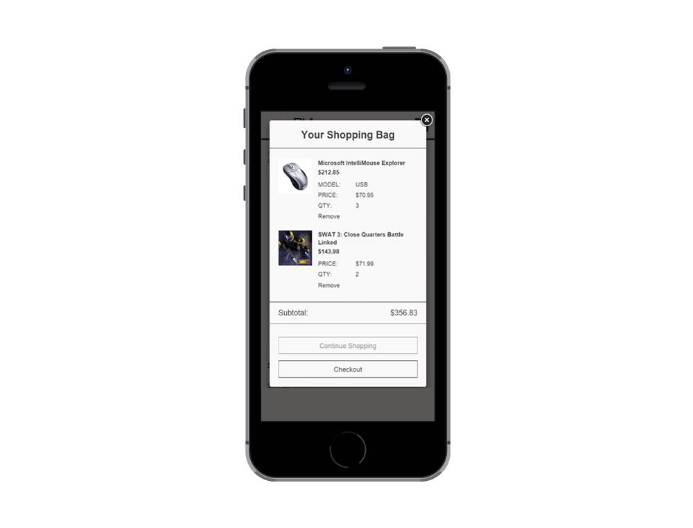 Ajax Shopping Cart Pop-up Plugin for Zen Cart by Numinix
