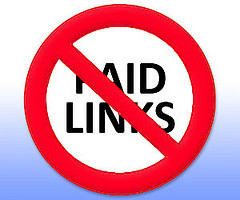No Paid Links