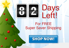 Numinix Holiday Shipping Countdown