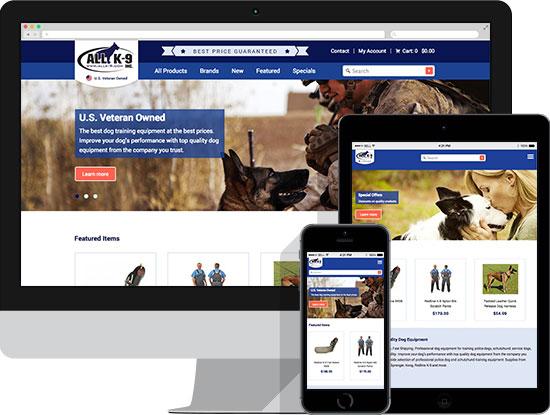 Responsive Design ALLK-9.com